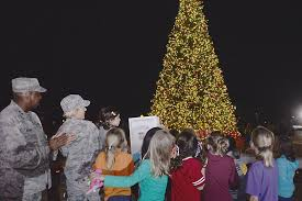 san antonio tree lighting 2017 joint base san antonio