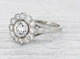 vintage engagement rings art deco elegant performance with the