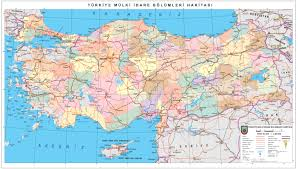 Map Turkey High Resolution Detailed Administrative And Road Map Of Turkey