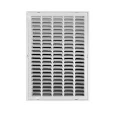 Decorative Wall Return Air Grille Truaire 20 In X 30 In White Return Air Filter Grille H190 20x30