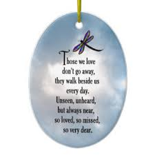 sympathy poem ornaments keepsake ornaments zazzle