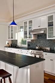 white cabinets with black countertops and backsplash 50 black countertop backsplash ideas tile designs tips