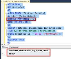 table partitioning in sql server partition level online index operations in sql server 2014 and its