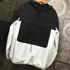 2016 autumn winter couple loose hoody pull over jackets women men