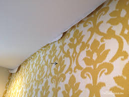 Fabric Wall Designs With Others Overlapping Seams On Hanging - Fabric wall designs