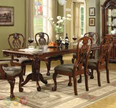 7 piece dining room set brussels traditional dining room set 7