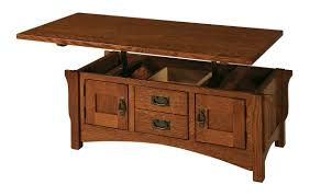 Wood Coffee Table With Storage Logan Oak Lift Top Coffee Table Best Gallery Of Tables Furniture