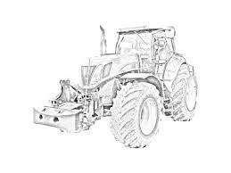 trattore new holland t7070 da colorare http tantitrattori 96 lt