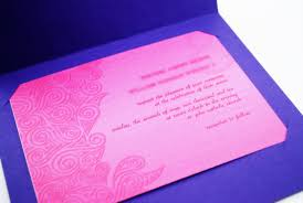 Hindu Wedding Invitation Card How To Make A Simple Handmade Wedding Invitation 10 Steps