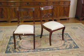 Dining Room Stools by Empire Duncan Phyfe Dining Room Chairs