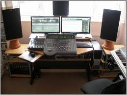 recording studio workstation desk home recording studio desk project workstation diy youtube photos