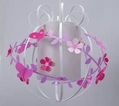 suspension chambre fille suspension fleurs de cerisier et papillons enfants