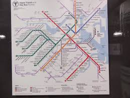 Mbta Map Subway by Miles On The Mbta March 2014