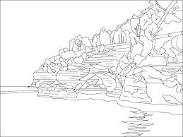 lake 24 nature u2013 printable coloring pages