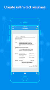 Make Resume Online And Save It by Quick Resume Resumes Builder And Designer On The App Store
