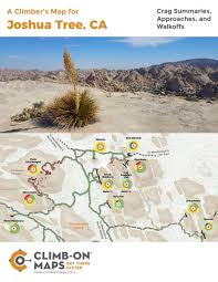 Launch Maps Funded In 36 Hours Joshua Tree Climb On Map Kickstarter Snews
