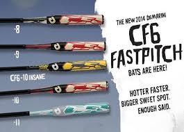 demarini cf6 fastpitch bats softball