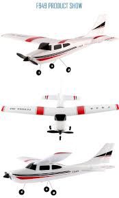 wltoys f949 cessna 182 2 4g 3 channel rc aircraft fixed wing rtf