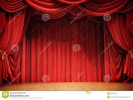 Velvet Curtains Velvet Curtains Stock Illustration Image 66365146