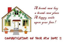 congrats on your new card congratulations on new home sayings search new
