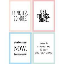 wandbilder spr che 4er poster set motivation sprüche und zitate dina4 motive büro