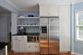 microwave in kitchen island where to put the microwave in your kitchen huffpost