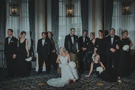 Vanity Fair Wedding Fairmont Palliser Wedding Planner Black White Gold Classic Glam