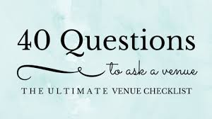 wedding venue questions 40 questions to ask your wedding venue ashelynn manor