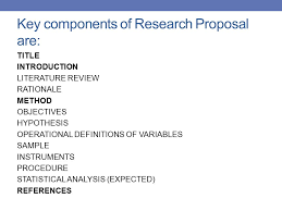 Research design examples for research proposal   Advantages of