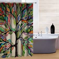 Custom Bathroom Shower Curtains 2018 New Brand New Custom 3d Printed Shower Curtain Colorful Big