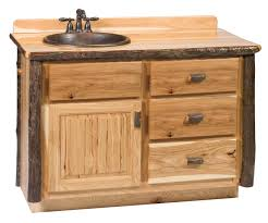 slab sink hickory vanities choice of sizes and finishes optional liquid