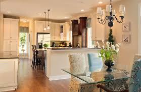 Greenwood Craftsman Model Dining Room Kitchen Beracah Homes - Modular dining room