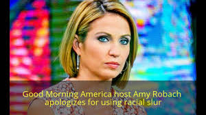amy robach hairstyle amy robach good morning america apologizes for using