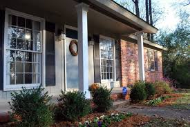 modern exterior heavenly image of front porch decoration