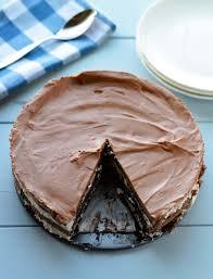 no bake chocolate hazelnut cream cake friday is cake night
