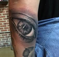 custom photo realistic eye tattoo by chunk garcia at certified