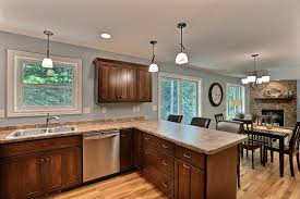 Kitchen Peninsula Design by Vc96 Custom Azalea Floor Plan Kitchen Peninsula Butterum