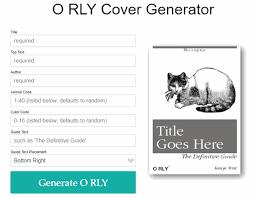 Phone Text Meme Generator 28 - o rly book cover meme generator