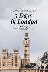 5 days in free place to go cheap places to eat