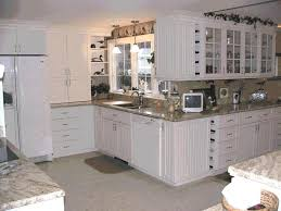 White Beadboard Kitchen Cabinets White Beadboard Kitchen Cabinets For Top Fancy Kitchen Cabinet