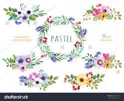Reath Design Colorful Floral Collection Multicolored
