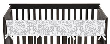 padded crib rail covers rail guards for cribs