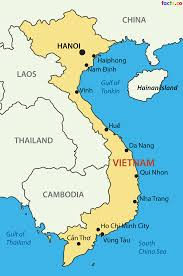 Map Of China With Cities by Vietnam Map Blank Political Vietnam Map With Cities