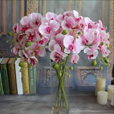 1pc 78cm phalaenopsis artificial orchid flower for wedding home