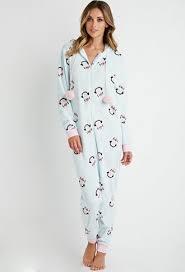 pj jumpsuit plush penguin pj jumpsuit forever 21 2000141522 it s bed
