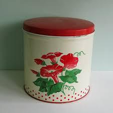 142 best vintage kitchen canisters images on pinterest vintage