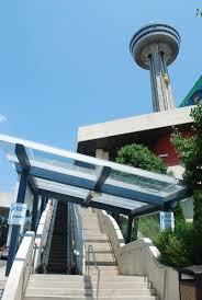 나이아가라 폭포 niagara falls 스카이론 타워 skylon tower 안개