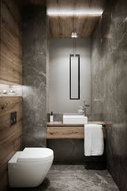 modern guest bathroom ideas badezimmer mit beton häuser toilet interiors and bath