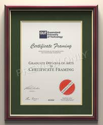 degree frames certificate frames for your of wollongong degree