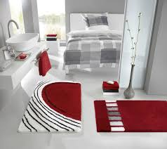 Modern Bathroom Rugs Modern Bath Mats Bahtroom Simple Window On Grey Wall Paint And